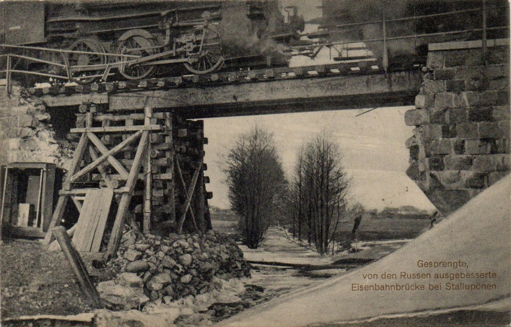 Brückenbelastungsprobe