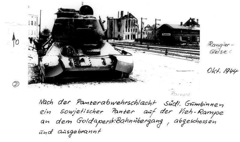 Gumbinnen Oktober Panzer