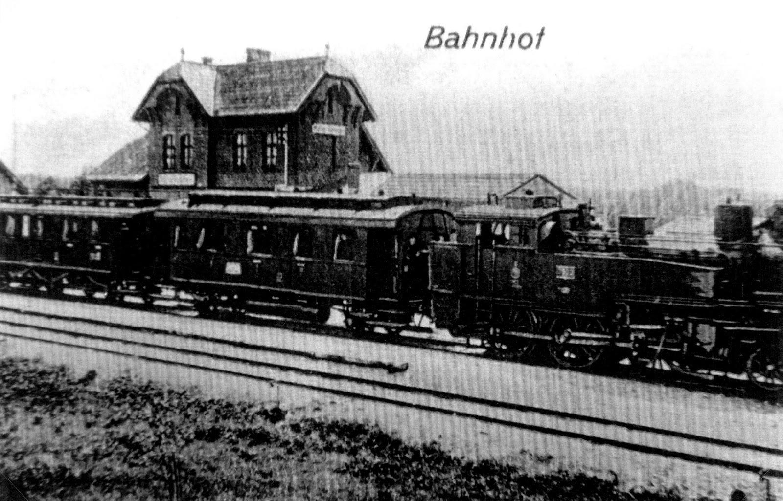 Walterkehmen Bahnho 1913 GDT