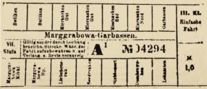 Fahrkarte-Margg
