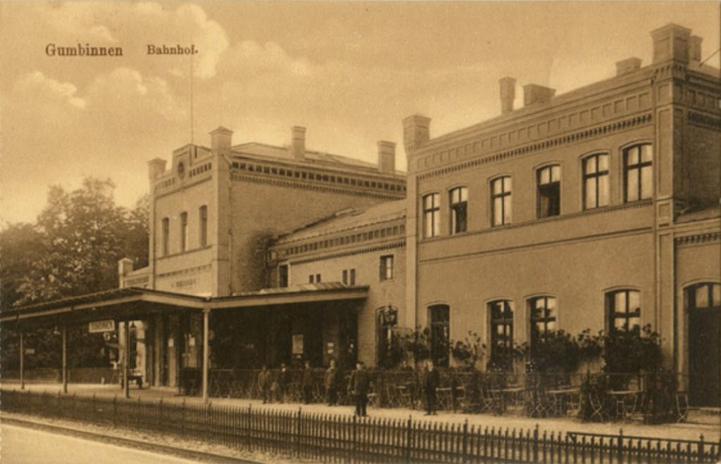 Gumbinnen Bahnhof 1905-1915