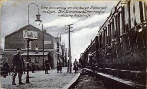 Lyck-russ.-Stationsschild