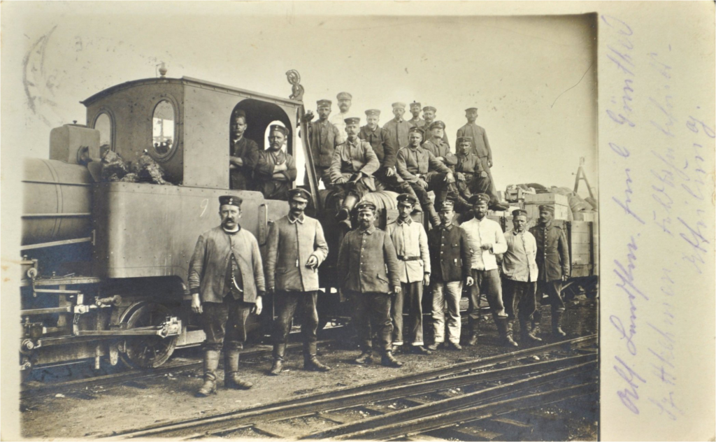 Feldbahn Szittkehmen Foto Emil August Günther
