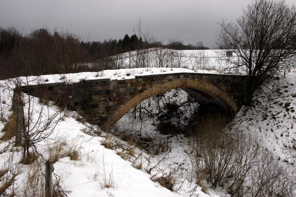 Granica Brücke im Winter 2006